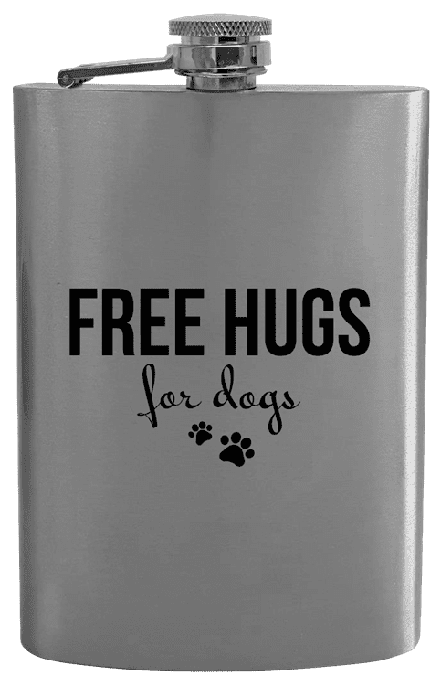 Placatka Free hugs for dogs