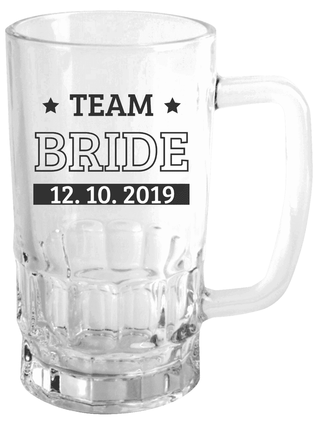 Půllitr Team Bride